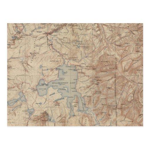 Parque nacional 2 de Yellowstone Postales