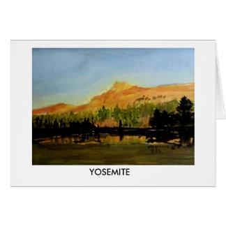 Parque nacional #4 de Yosemite Tarjeta Pequeña