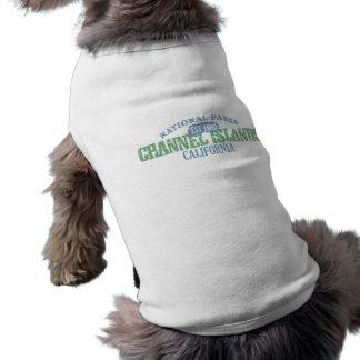 Parque nacional de las Islas del Canal Camiseta Sin Mangas Para Perro