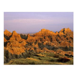 Parque nacional de los Badlands en Dakota del Sur Postal