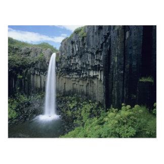 Parque nacional de Skaftafell, cascada de Postal