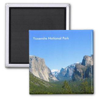 Parque nacional de Yosemite Imán Cuadrado