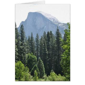 Parque nacional de Yosemite Tarjeta De Felicitación