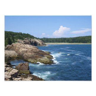 Parque nacional del Acadia, impresión de la foto