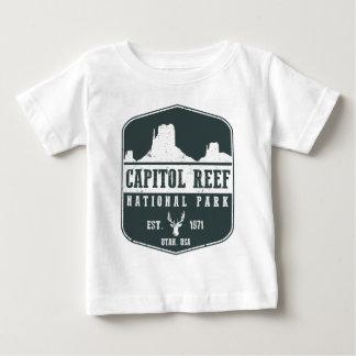 Parque nacional del filón del capitolio camiseta de bebé