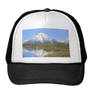 Parque nacional magnífico del Mt. Moran Teton Gorras