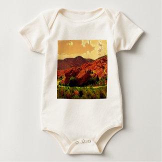 Parque rojo Denver Colorado de las rocas Body Para Bebé