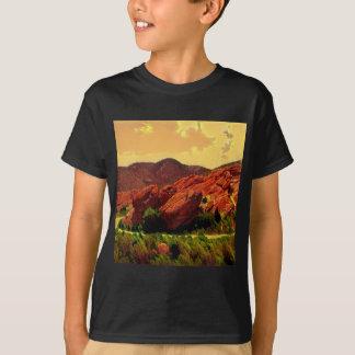 Parque rojo Denver Colorado de las rocas Camiseta