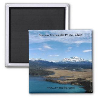 Parque Torres del Paine, Chile Imán De Frigorífico