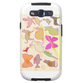 PARQUE ZOOLÓGICO DE LOS NIÑOS: Colecciones animale Samsung Galaxy S3 Carcasa