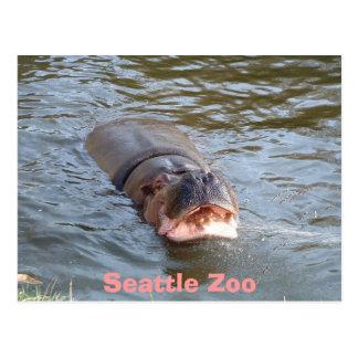 Parque zoológico de Seattle Postal