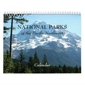 Parques nacionales de la foto del noroeste calendarios de pared