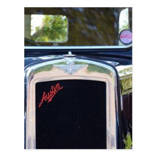 Parrilla de radiador de Austin A7 Postal