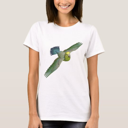 Parrotlet Amarillo-Hecho frente Camiseta