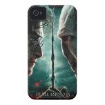 Parte 2 de Harry Potter 7 - Harry contra Voldemort iPhone 4 Case-Mate Cárcasa