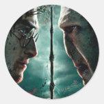 Parte 2 de Harry Potter 7 - Harry contra Voldemort Etiqueta Redonda