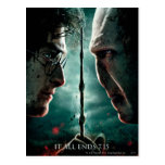 Parte 2 de Harry Potter 7 - Harry contra Voldemort Postal
