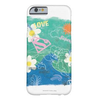 Parte de Supergirl el alcohol y el amor Funda De iPhone 6 Barely There
