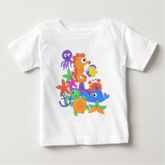 Parte inferior de la camiseta infantil TBA