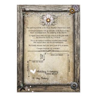 Parte movible de Meagan Frasier Invitación 11,4 X 15,8 Cm