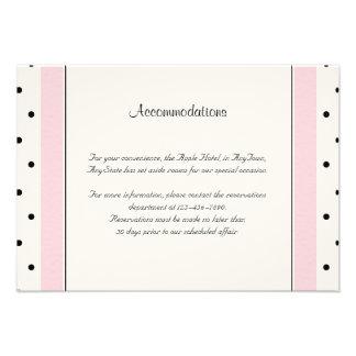 Parte movible elegante del boda de la mariposa del comunicados personales