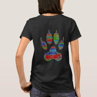 Parte posterior de la camisa de TrailDog