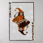 Parte posterior de la tarjeta de Weasleys Posters