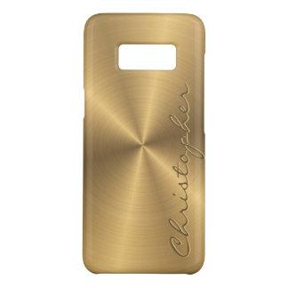 Parte radial metálica personalizada del oro del funda de Case-Mate para samsung galaxy s8