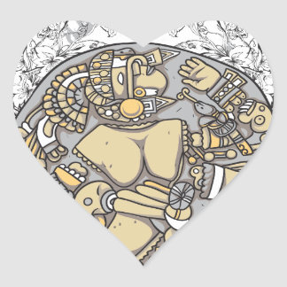 partes del cuerpo del vintage junto pegatina en forma de corazón