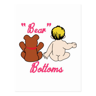 Partes inferiores del oso postal