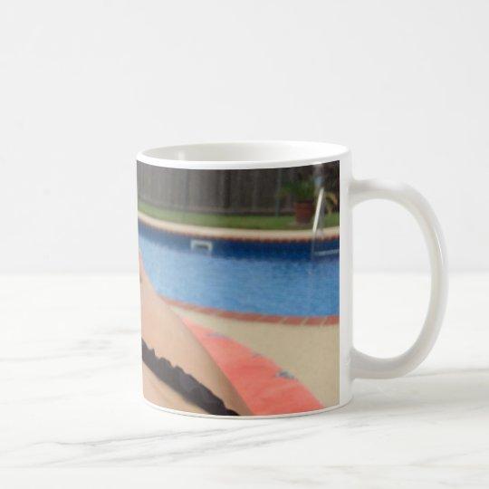 partes inferiores para arriba taza de café