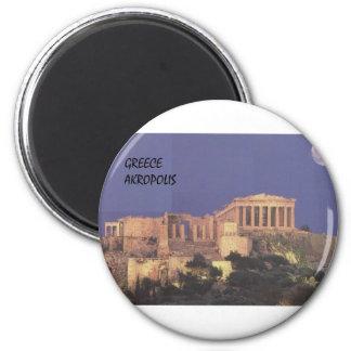 Parthenon de Grecia Atenas Akropolis (St.K) Imán