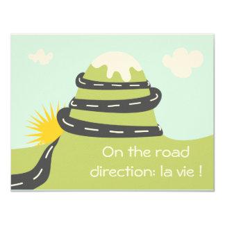"""Participación de nacimiento """"on the road """""""