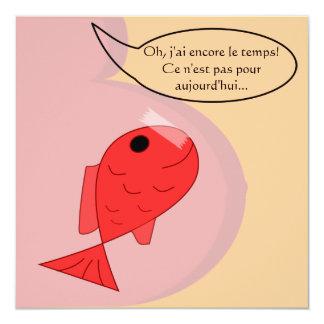 """Participación de nacimiento """"pescado de abril """""""