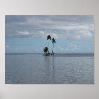 Partida de la isla póster