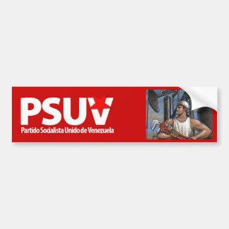 Partido Socialista venezolano Hugo Chavez Pegatina Para Coche