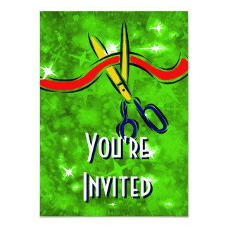 Partido Verde del lanzamiento de la gran Invitación 11,4 X 15,8 Cm