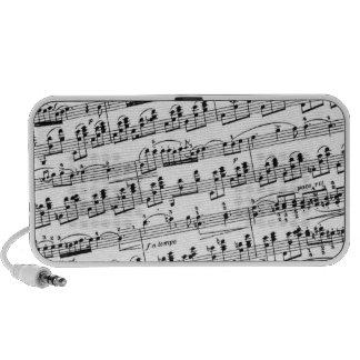 Partitura de Chopin Mini Altavoces