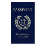 pasaporte tarjeta personal
