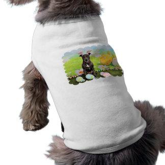 Pascua - cabeza de Pitbull - de Puddin Ropa De Perro