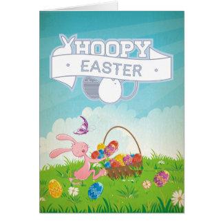 Pascua de lúpulo tarjeta de felicitación