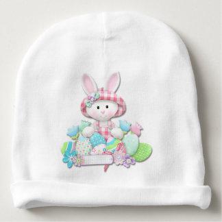 Pascua - el bonito acolchó el conejito gorrito para bebe