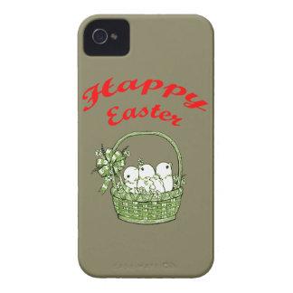 Pascua feliz 4 funda para iPhone 4 de Case-Mate