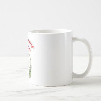 Pascua feliz 4 taza de café