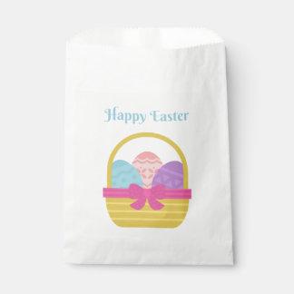 Pascua feliz bolsa de papel