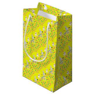 Pascua feliz bolsa de regalo pequeña