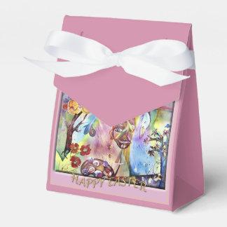Pascua feliz caja para regalos
