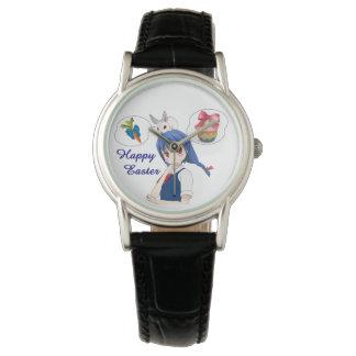 Pascua feliz (costumizable) reloj de pulsera