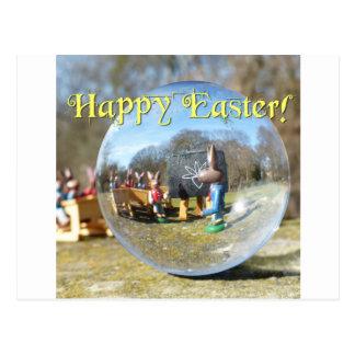 ¡Pascua feliz! Escuela 02.0.T del conejito de Postal