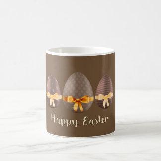 Pascua feliz, huevos de Choco Pascua Taza De Café